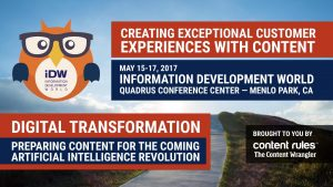 Information Development World 2017