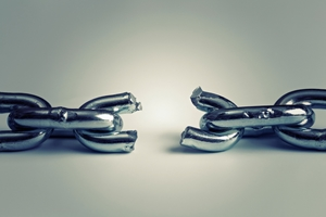 The broken chain of orphaned content